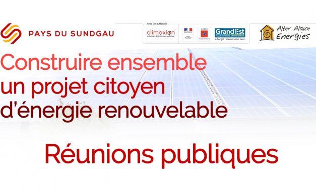 Construire ensemble un projet citoyen d'énergie renouvelable