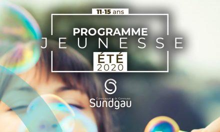 CCS – programme jeunesse 2020