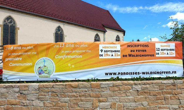 Préparation à la première communion et à la confirmation